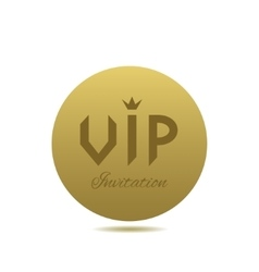 Vip invitation card vector