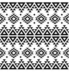 Aztec navajo geometric seamless pattern vector