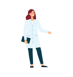 doctor woman icon as a part women diversity vector image