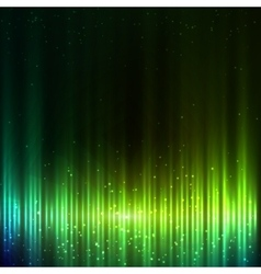 Green shining equalizer abstract background vector image