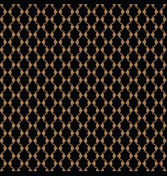 luxury pattern royal gold pattern vector image