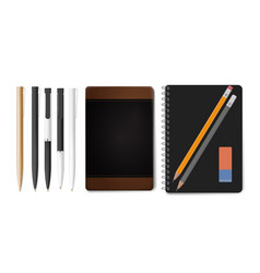 Modern design flat icons collection concept vector