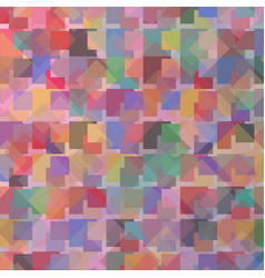 sweet of many colorful in square area vector image