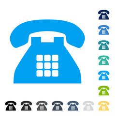 Tone phone icon vector