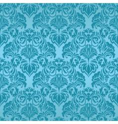 Turquoise seamless wallpaper vector
