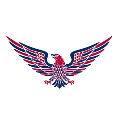 American eagle background easy to edit vector image