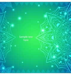 Indian Vintage Ornament for vector image