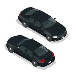 Modern Car Car icons Flat 3d isometric vector image