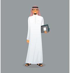 Arabic man character image vector