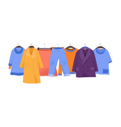 clothes store icon vector image