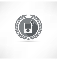 mp4 icon vector image