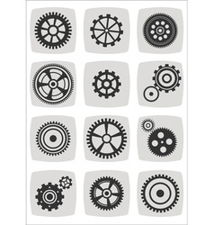 gear cell2 vector image