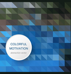 abstract polygon background geometric background vector image