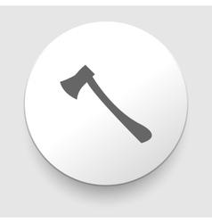 axe symbol vector image