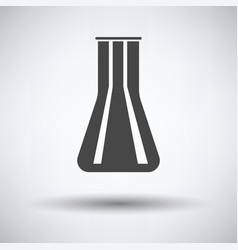chemical bulbs icon vector image