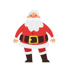 Christmas new year santa claus vector