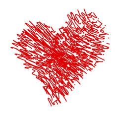 crayon valentine12 0 vector image