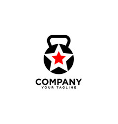 Exclusive fitness logo design template vector
