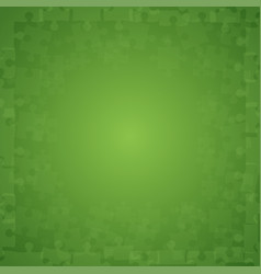 Green puzzles pieces - jigsaw vector