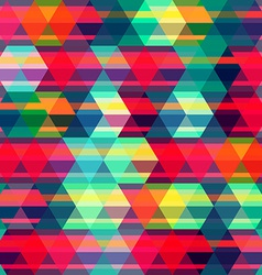 red rhombus seamless pattern vector image