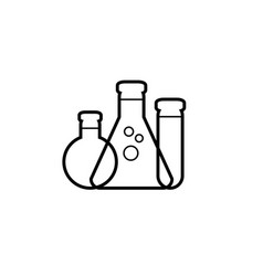 simple synthesis icon vector image