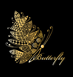art butterfly for your design vector image vector image
