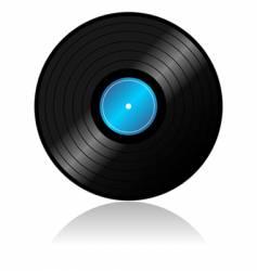 vinyl record with reflex vector image vector image