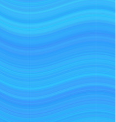 Blue abstract smooth wave background design vector