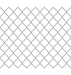New steel mesh metal fence seamless structure vector image