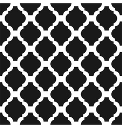 Black and white classic seamless pattern vector