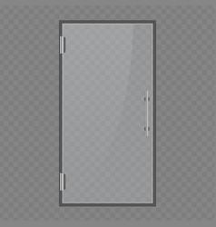 glass office doors vector image