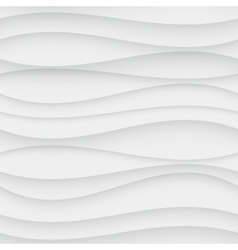 Seamless Wave Pattern Curved Shapes Background vector