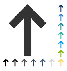 Up arrow icon vector