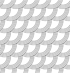 Abstract seamless wave background vector image vector image