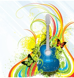 musical composition vector image vector image