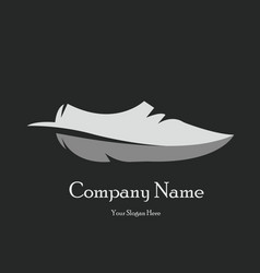 Creative shoes logo dsign vector
