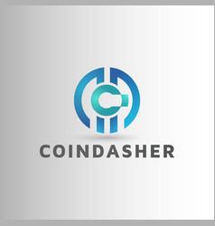 Crypto logo design inspiration vector