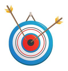 dart icon cartoon style vector image