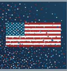 independence day background with vector image