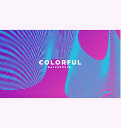 modern minimal colorful abstract background lines vector image