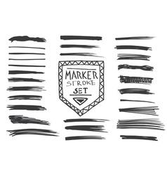 Permanent marker Marker stroke vector