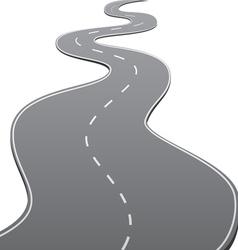 Twisty Road vector image