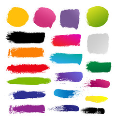 blots for design vector image