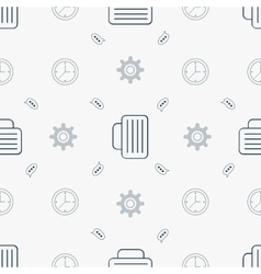 Bussines seamless pattern vector image vector image