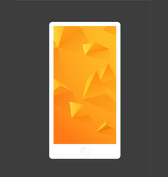 abstract colored background with triangles mobile vector image