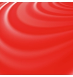 Abstract Glowing Red Waves vector image