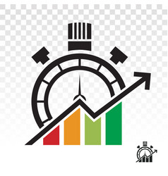 Business optimization icon for apps or website vector