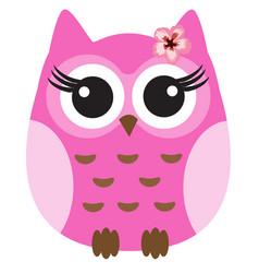 cute owl vector image