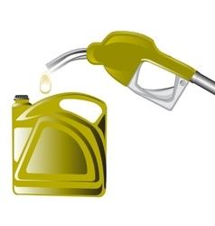 Fuel benzine vector