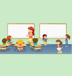 Classroom Clipart Vector Images Over 1 000